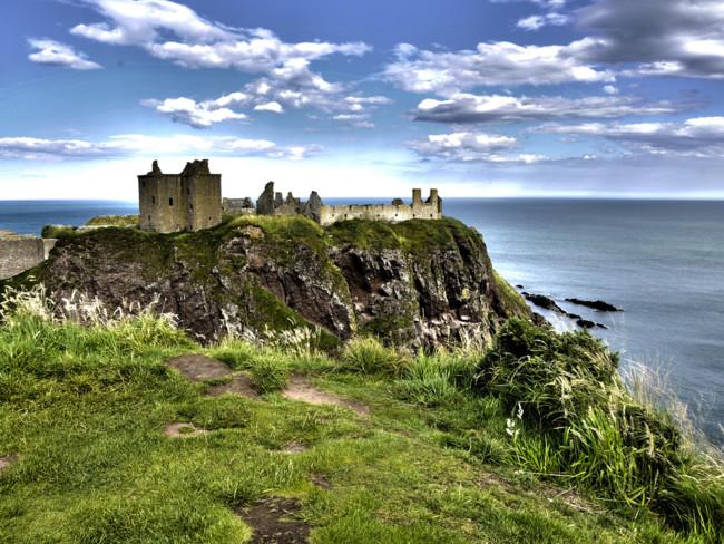 Los castillos más bonitos de Escocia: Dunnottar Castle