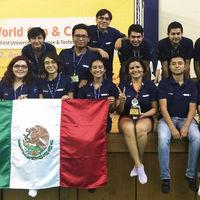 Estudiantes mexicanos ganan el oro en el RoboWorld Cup & Congress 2017 de Taiwán con ingenio y  pocos recursos