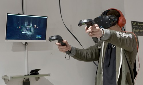 Virtual Playground, el intento de resucitar las salas recreativas usando la realidad virtual