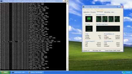 Logran compilar e instalar Windows XP y Server 2003 a partir del código fuente filtrado: así es el proceso en vídeo