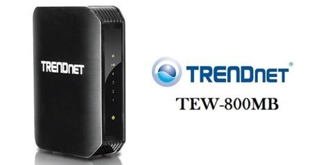 TRENDnet TEW-800MB, puente de medios compatible con 802.11ac