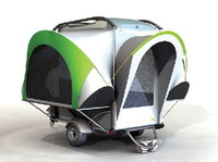 Remolques de coche para camping y actividades deportivas
