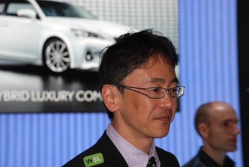 Embelezzia en la presentación mundial del Lexus CT 200h