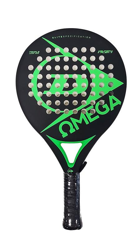 Sólo hoy: pala de pádel Dunlop Omega por 29,99 euros en Amazon con envío gratis.