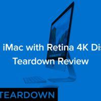 El nuevo iMac retina de 21,5 pulgadas tampoco se escapa del despiece de iFixit