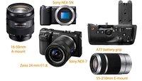 Primeras imágenes de la NEX-7 y otros productos de Sony