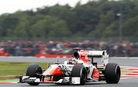 GP de Gran Bretaña F1 2011: Hispania Racing F1 Team lleva los dos coches a la meta en una carrera complicada