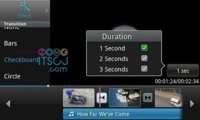 Editor de vídeo de Samsung para Android 2.2 Froyo