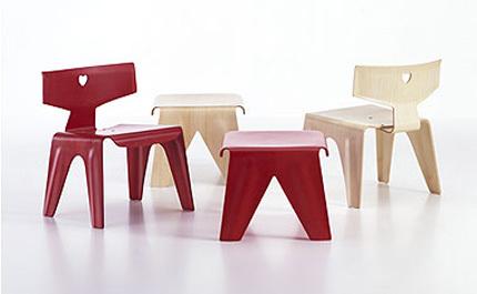 Muebles de diseño para niños