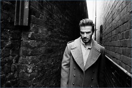 Un enigmático David Beckham protagoniza la campaña otoño-invierno 2017/2018 de Kent & Curwen