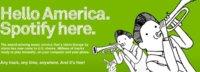 Spotify consigue setenta mil usuarios de pago en Estados Unidos en su primera semana