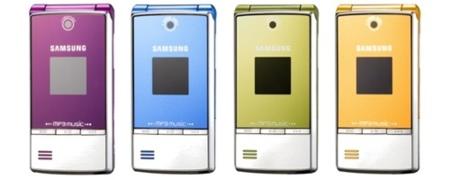 Samsung M3110, de la gama musical
