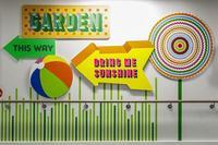 Varios artistas transforman la planta infantil de un hospital con un resultado espectacular