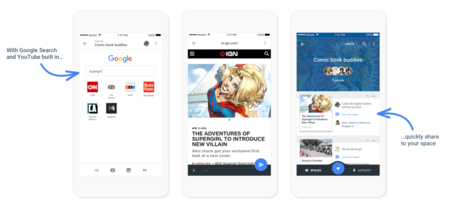 Google Spaces, una nueva aplicación social para compartir contenido en pequeños grupos de amigos