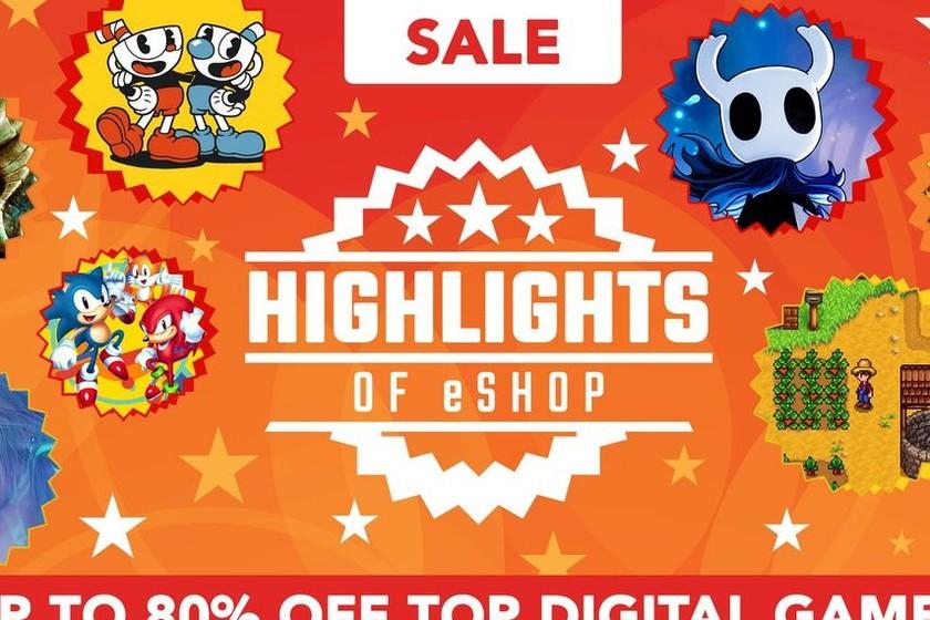 La eShop de Nintendo Switch inicia una tanda de rebajas de sus juegos destacados y estas son las mejores ofertas