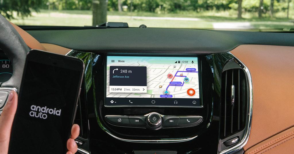Waze Android Auto 4
