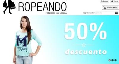 Ropeando nos ofrece ropa española con importantes descuentos