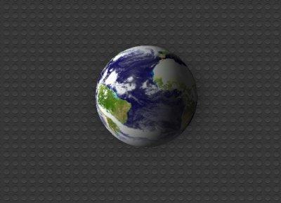 Earth Widget, globo terráqueo en 3D con información meteorológica en tu Dashboard