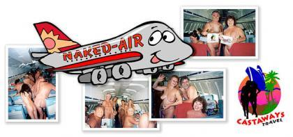 Naked-Air, precedente de los vuelos nudistas