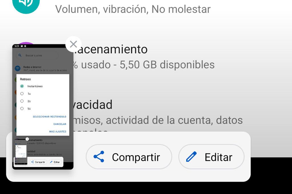 Android doce mejora las capturas de pantalla: llegan las capturas con movimiento y otros cambios