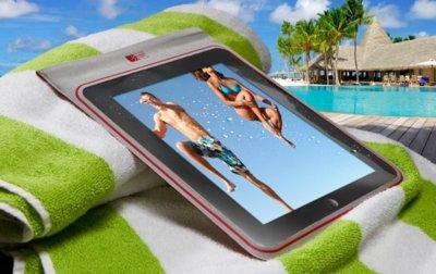 iPadW, una funda para no abandonar tu tablet en verano
