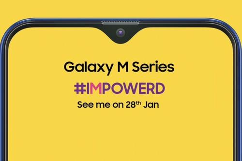 Samsung sucumbe al 'notch' en su Galaxy M, uniéndose a la moda popularizada por el iPhone X