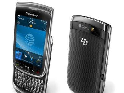 BlackBerry Torch 9800, la pantalla táctil y el navegador empiezan a ser importantes