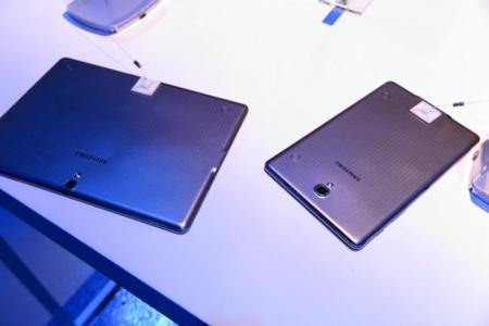 Galaxy Tab S traseras