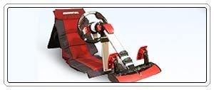 Race Pac, volante y pedales con sillón para Xbox y Ps2
