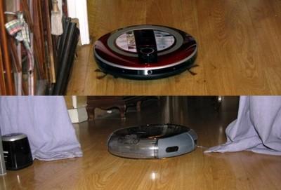 Robots de limpieza Samsung NaviBot y LG Hom-Bot, los probamos