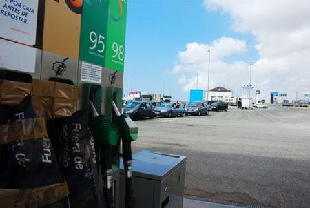 Combustibles agotados temporalmente por montuno