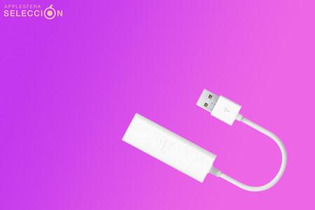 El adaptador USB a Ethernet oficial de Apple está rebajado a su precio mínimo histórico en Amazon: 25 euros