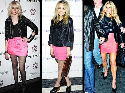 Lo que se lleva esta primavera: faldas fucsias