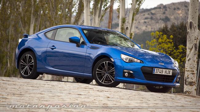 Subaru BRZ azul Madrid