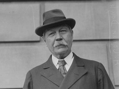 Arthur Conan Doyle, protagonista de una serie de televisión