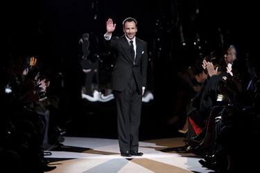 Tom Ford Otoño-Invierno 2013/2014: el genio del marketing abraza la opulencia