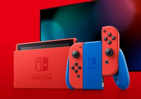 La nueva Nintendo Switch edición especial Mario con funda de transporte está en Amazon y Fnac por 313,49 euros