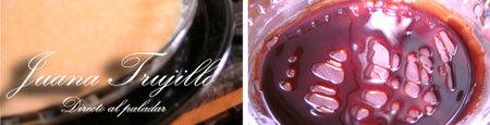 Caramelizar el molde - Poner en el horno al baño de maría - Flan de piña al ron