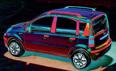 La copia china del Fiat Panda no se venderá en Italia