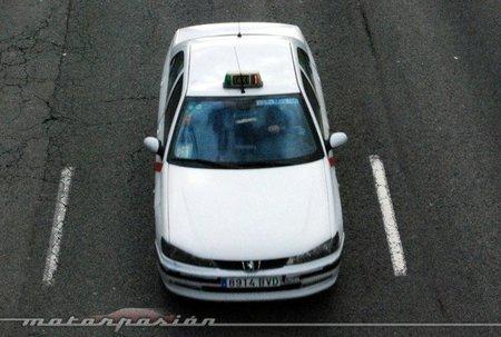 Taxi Peugeot 406 Madrid