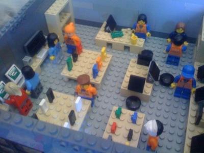 Imagen de la semana: Una Apple Store hecha de Lego
