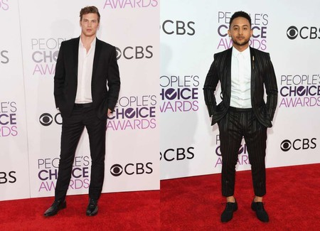 Derek Theler Tahj Mowry Peoples Choice Awards Red Carpet