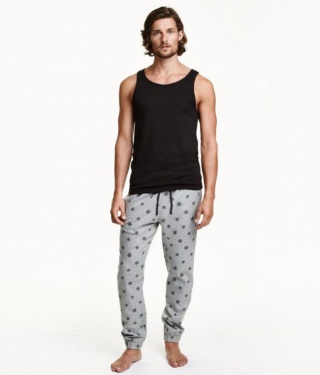 Pantalones con motivo