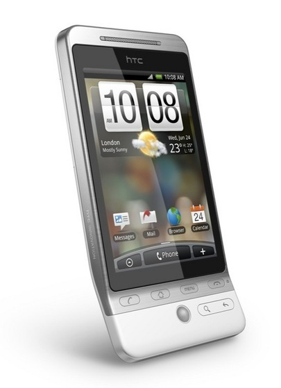HTC Hero hace evolucionar a Android