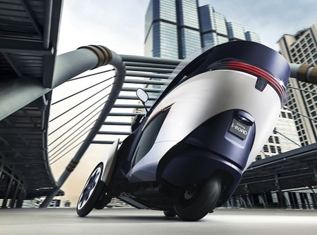 Toyota i-Road 2013, Active Lean
