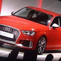 Audi RS3 Sedán, se filtra la primer foto