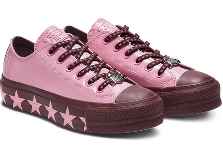 Converse X Miley Cyrus Chuck Taylor All Star Low Top Faux Patent
