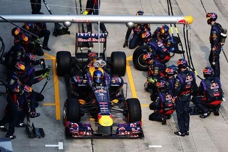 Red Bull reduce a 2,05 segundos el tiempo de pit-stop. Nuevo récord