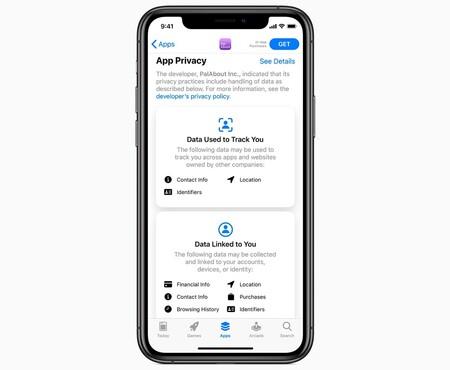 privacidad, iOS 14