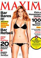 Bar Refaeli es la más sexy de Maxim y todos sabemos porqué...